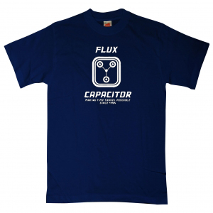 Flux capacitor t shirts making time travel possible for Shirt making website cheap